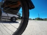 Emergency roadside rim repair.