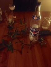Ouzo to celebrate the harvest.....